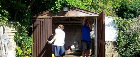 Dismantle Old Garage
