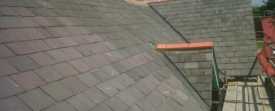 New Tiled Roof Completed